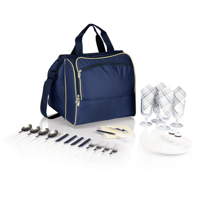 Picnic Time Toluca Cooler Tote, Navy