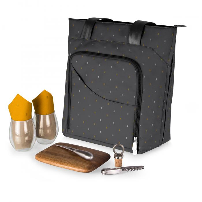 Picnic Time Sonoma Wine And Cheese Tote Anthology Collection