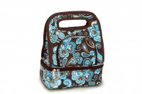Picnic Plus Savoy Lunch Tote with Storage Container - Cocoa Cosmos