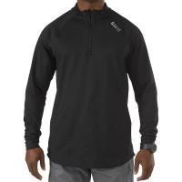 5.11 Sub-Z Quarter Zip Long Sleeve Shirt Black Medium