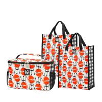 Love Bags Grill 'n Chill Set, 3 in 1 Cooler/Tote Set