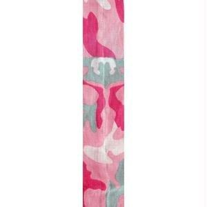 Cooldanna 100% Cotton Cooling Head and Neck Tie, Pink Camouflage