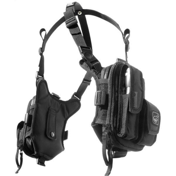 Hazard4 Covert Escape RG, Flashlight/Cycling/Camera Chest Pack,Black