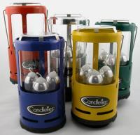 Industrial Revolution Candelier Lantern - Polished