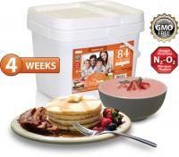Relief Foods 4-Week Breakfast Only Emergency Food Supply - 84 Serving