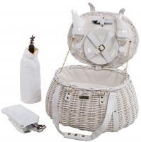 Picnic & Beyond Willow Wedding Picnic Basket for 2