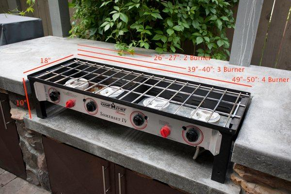 Camp Chef Home 2 Burner Stove - Somerset II