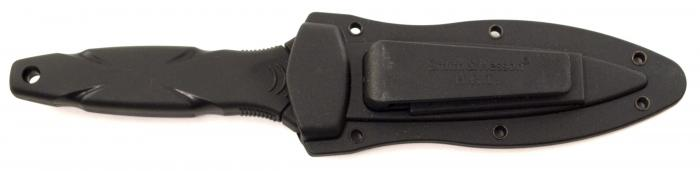 Smith & Wesson H.R.T. Tactical Boot Knife with Molded Nylon Sheath
