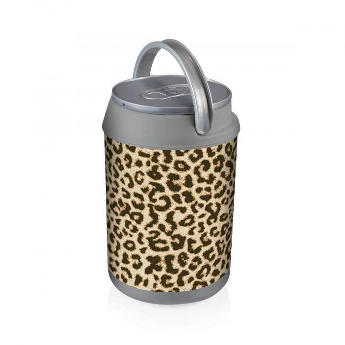 Picnic Time Mini Can Cooler - Cheetah Print Can