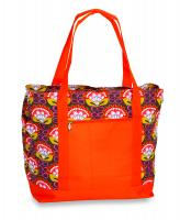 Picnic Plus Lido 2-in-1 Cooler Bag - Orange Martini