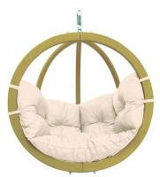 Byer of Maine Globo Chair, Natural, Agora Outdoor Fabric
