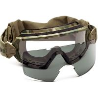 Smith Optics Outside The Wire, Multicam Frame, Clear/Gray, Field Kit