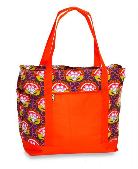 Picnic Plus Lido 2-in-1 Cooler Bag - Orange Martini