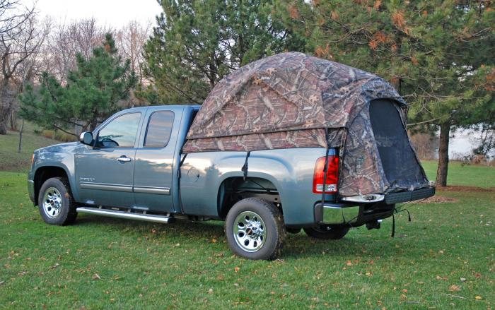 Napier Outdoors Camp Truck Tent-  Full Size Short Box - 6.5 Ft.