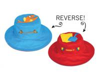 Luvali Convertibles Fish/Pail Reversible Kids' Hat Small
