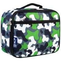 Olive Kids Green Camo Lunch Box