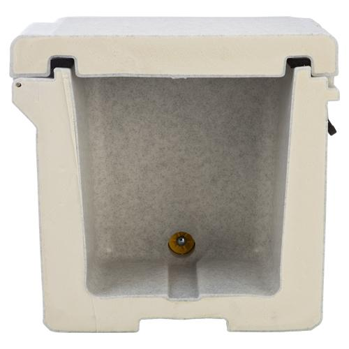 Grizzly 60 Quart RotoMolded Cooler, White
