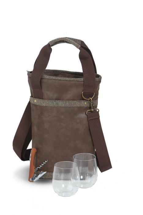 Picnic Plus Omega Single Bottle Bag - Espresso