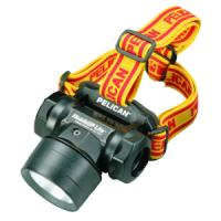 Pelican Products Black HeadsUp Headlamp w/Cloth & Rubber Straps