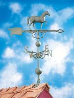 "46"" Horse Weathervane - Verdigris"