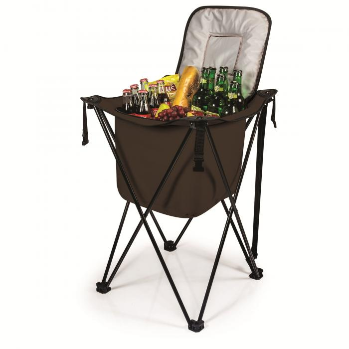 Picnic Time Sidekick Party Cube Cooler, Black