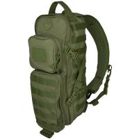 Hazard4 Evac Plan-B Front/Back Modular Sling Pack, OD Green