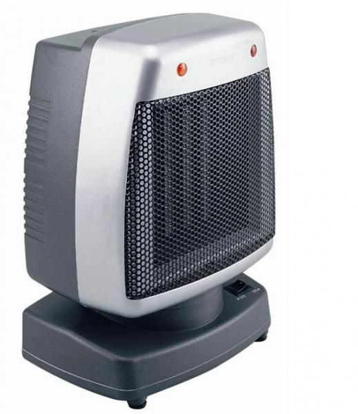 Optimus H1382 Portable 2 Speed Oscillating Fan Heater With