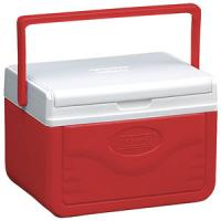 Coleman 5 Quart Take 6 Cooler, Red