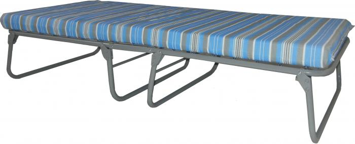 Blantex Heavy-Duty Steel Folding Cot (375 pound capacity)- xk-5