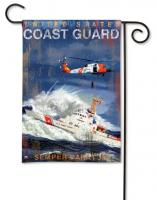 Magnet Works Coast Guard Garden Flag