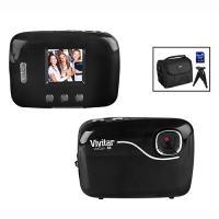 Vivitar Vivicam 56 5.1 MP Digital Camera Kit Black