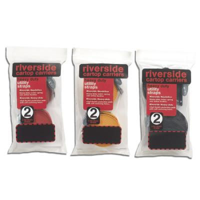 Riverside Cartop Carriers Cam Straps 15' Black Bulk