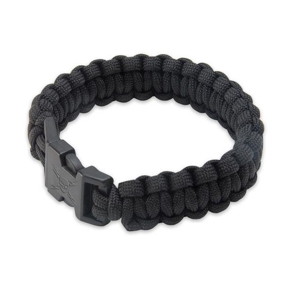 United Cutlery Elite Forces Paracord Bracelet, Black