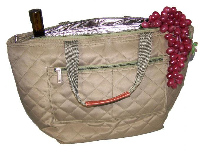Primeware Milan Insulated Cooler Tote Bag Bourbon Collection