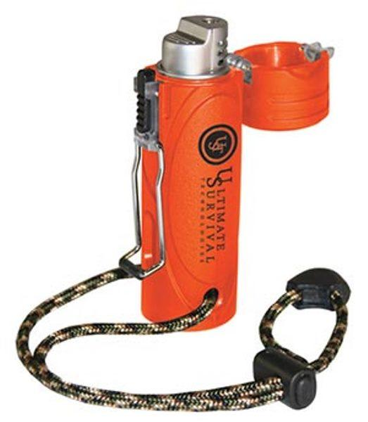 Ultimate Survival Trekker Orange Stormproof Lighter