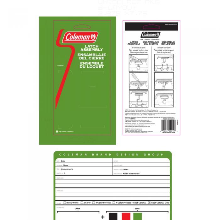 Coleman Cooler Latch - Repair Package