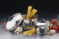 Set of two Stainless Steel Pasta Express