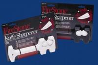 FireStone 2-Stage Manual knife Sharpener, White