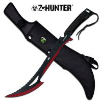 "Z-Hunter 23.75"" Machete - Red"