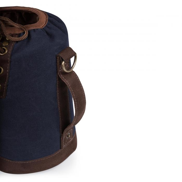 Picnic Time Growler Tote With Growler - Navy