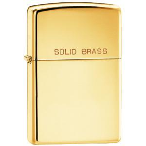 Zippo Regular High Polish Brass