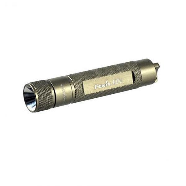 Fenix Flashlights E01 Keychain Light, 10 Lumens, Olive Drab