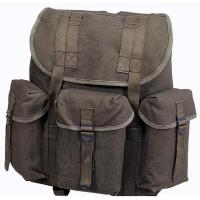 Stansport Cotton G.I. Rucksack - Black