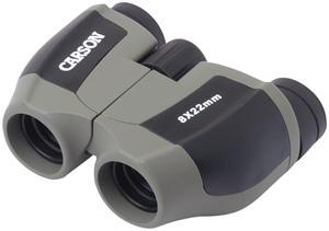Carson JD-822 Scout 8 X 22mm Compact Porro Prism Binocular