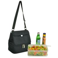 Picnic at Ascot Fashion Insulated Lunch Bag  - Black