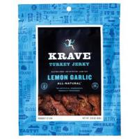 Krave Jerky Lemon Garlic Turkey