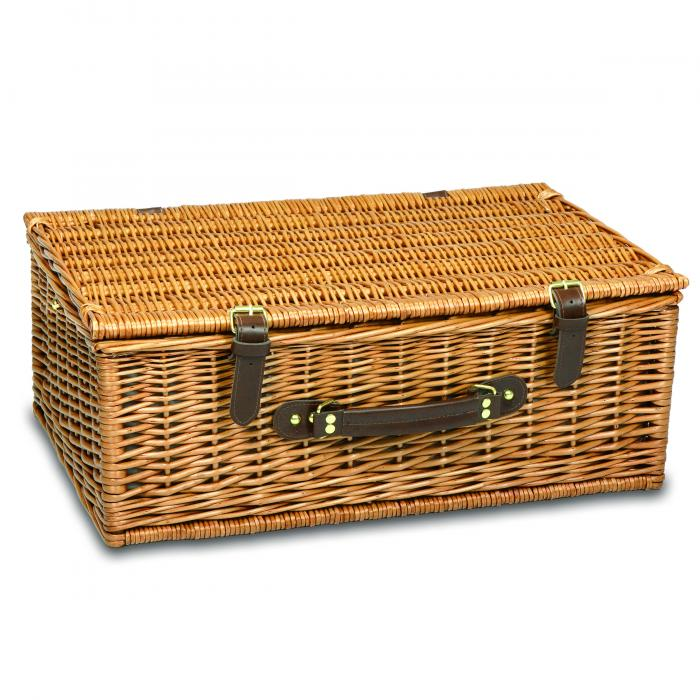 Picnic Time Newbury Four Person Willow Basket