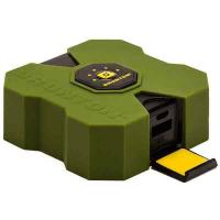 Brunton Revolt 4000 mAh, 4x Charge, Outdoor Green