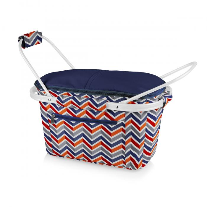 Picnic Time Market Basket  Collapsible Tote (Vibe Collection)