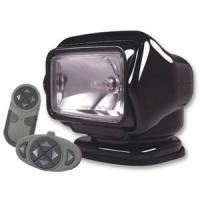 Golight Stryker Searchlight 12V w/Wireless Dash & Handheld Remote - Black